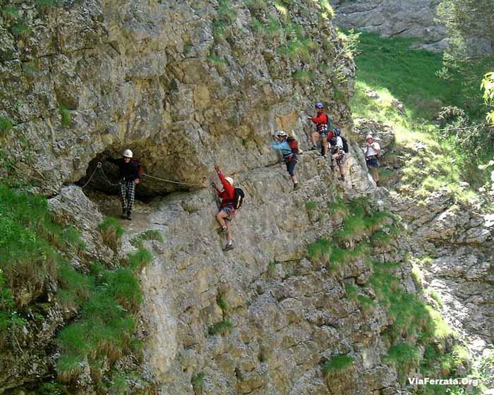 37e via ferrata du d voluy le d voluy for Hautes alpes