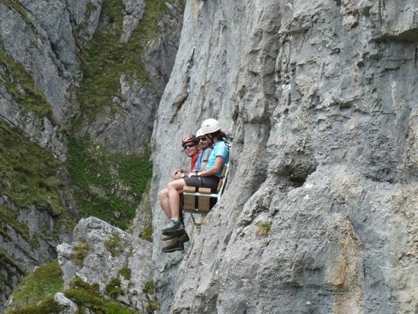 Klettersteig Fruttstägä : Klettersteig fruttstägä bergsteigen