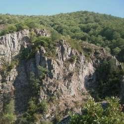 Via Ferrata Pont du Diable, Thueyts, Ardèche, France